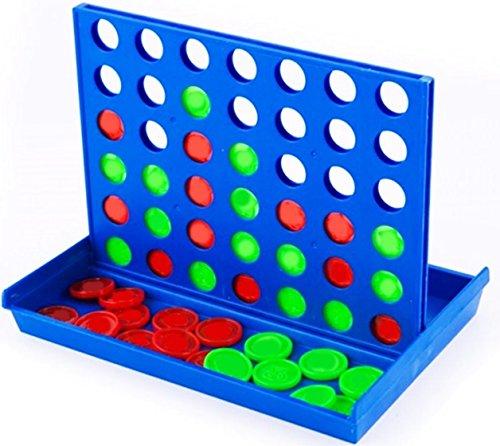 Spiel \'Vier in einer Reihe\' - in farbiger Box ca. 15x10cm