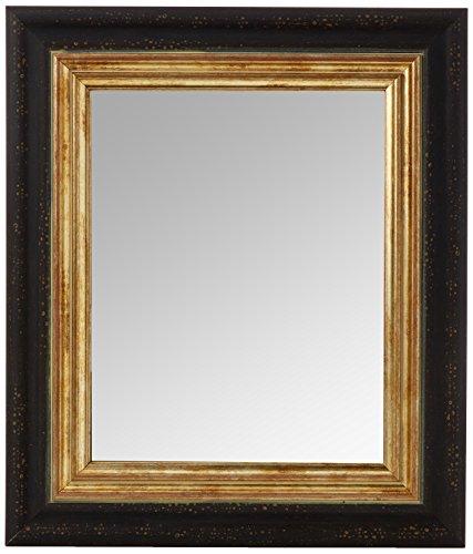 Inov8 Framing Spiegel Frame Toscane Zwart Goud Rand 10x8 4PK, 9 x 12 x 16 cm
