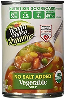 Healthy Valley vegetable Soup No Salt ( 12x15 OZ)