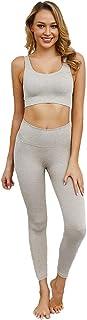 GladiolusA Bekleidung Yoga Set,Komfort Damen Sport BH Sport Leggings Trainingshose Sport Bustier Ohne Bügel Yoga Fitness Training,Laufen Und Andere Aktivitäten