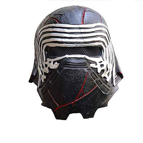 Kylo Ren Maske SW9 Film Cosplay Full Head Helm Halloween Cosplay Kostüm Zubehör...