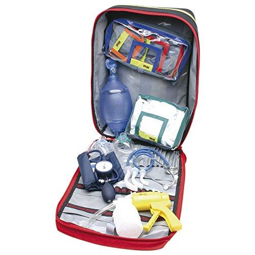 Dönges Notfallrucksack gefüllt DIN 13155, erste Hilfe, PAX-Plan, rot