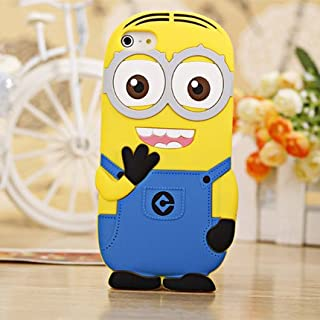 3D Despicable Me II Minions Style Silicone Case for iPhone 5 & 5S (Dark Blue)