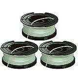 Black and Decker - Bobina per decespugliatore e linea A6481 x 3 per decespugliatore reflex
