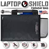 Mission Darkness Non-Window Faraday Bag for Laptops - Device Shielding for Law Enforcement, Military, Executive Privacy, EMP Protection, Travel & Data Security, Anti-Hacking & Anti-Tracking Assurance tracking devices Nov, 2020
