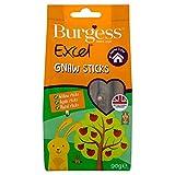 Burgess Excel Gnaw Sticks legnetti per roditori Confezione da Circa 14 legnetti - 90 gr