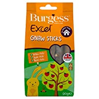 Excel Nature Snacks are complementary healthy snacks for rabbits, guinea pigs, chinchillas and other small animals Gnawing on Excel Nature Snacks Gnaw Sticks provide great environmental enrichment, keeping fibrevores busy and occupied which is good f...
