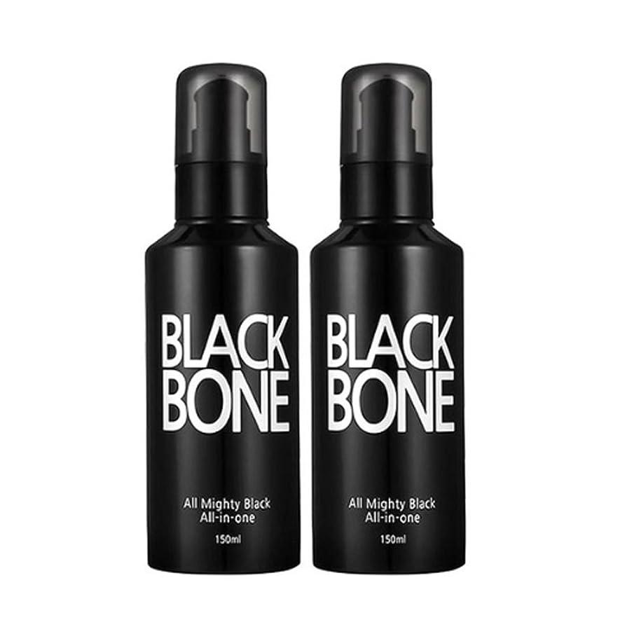 高くスタッフ地殻ソメンブラックボンオールマイティ男性オールインワン150ml x 2本セット、So Men Black Bone All Mighty Men All-in-One 150ml x 2ea Set [海外直送品]