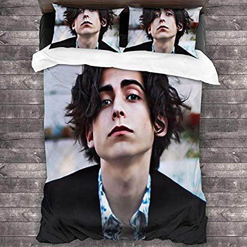 HUA JIE A-Idan G-Allagher 3-Piece Bedding Set Bed Sheets Soft Microfiber Duvet Cover Pillowcases (1 Quilt Cover + 2 Pillowcases) 5