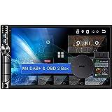 Tristan Auron BT2D7019A Android 10.0 Autoradio mit Navi + OBD 2 und DAB+ Box I 7' Touchscreen GPS Bluetooth Freisprecheinrichtung I 32GB ROM I WiFi USB SD 2 DIN