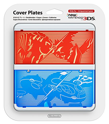 New Nintendo 3DS Cover Plate No. 40 - Pokemon Omega Ruby and Alpha Sapphire by Nintendo
