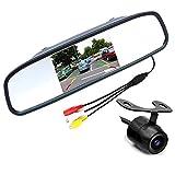 PolarLander 4.3'Moniteur Car Mirror Couleur TFT LCD avec Vue arrière Système d'aide...
