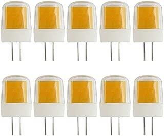 G4 Bombilla LED regulable de 3 W sustituye a JCD G4 30 W lámpara halógena blanco cálido 3000 K 220 – 240 V – 10 unidades