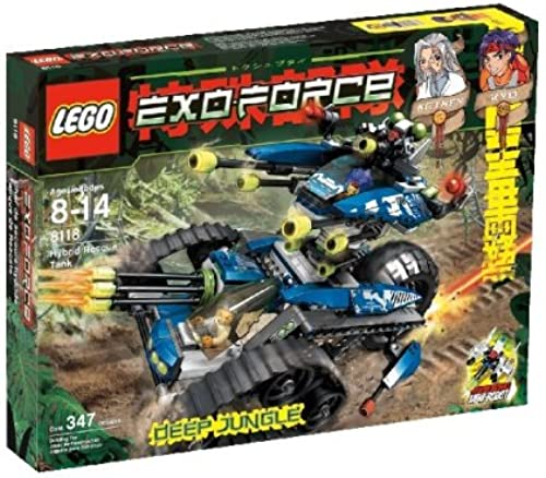 LEGO xo-Force 8118 Hybrid Rescue Tank