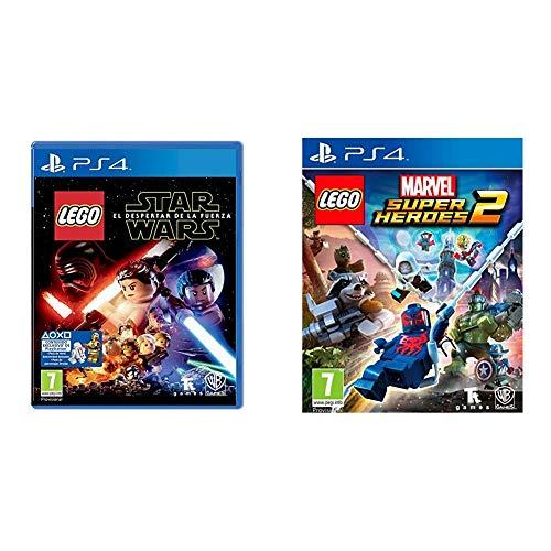 Warner Bros. Entertainment LEGO Star Wars: El Despertar De La Fuerza (Episodio 7) + Interactive Spain Lego Marvel Super Heroes 2