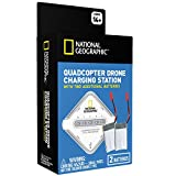 NATIONAL GEOGRAPHIC – Two Pack of 750 mAh LiPo Drone Replacement Batteries and 4-Port Charger, Compatible with Many of The Top Drones (Check Battery Specs)!
