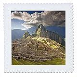 3dRose QS 87001_ 4Machu Picchu, Ruinen,