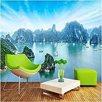 Iusasdz カスタム写真の壁紙3D自然風景風景壁画リビングルームテレビソファ寝室の背景壁の装飾3D-150X120Cm