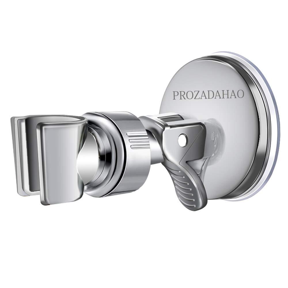 Adjustable Shower Head Holder, Bathroom Suction Cup Handheld Shower Head  Bracket, Removable Handheld Showerhead & Wall Mounted Suction Bracket, ...
