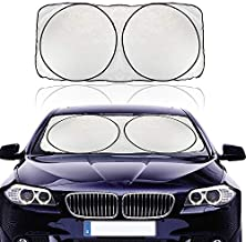 DR.PEN Windshield Sun Shade Blocks UV Rays Heat Sun Visor Protector Foldable Car Front Window Sunshades Keep Your Vehicle Cool