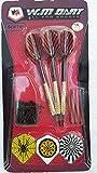 soft darts blister-set 3 pezzi peso 16 gr, punte in ideale per allenamento