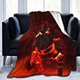 DISGOWONG Soft Warm Flannel Fleece Blanket Throw Blankets for All Season for Bed Sofa Living Room Bedroom Couch Home Office Cla-sh of cl-ans Blanket 50'×40'