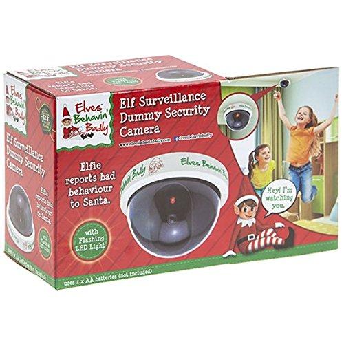 hoolaroo vip elf dummy CCTV Camera - Elf Voor kerstaccessoire