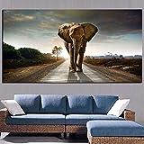 sanzangtang Rahmenlose Malerei afrikanische