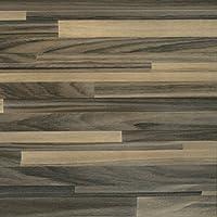Venilia Holzoptik Parkett Braun Adhesiva Parquet marrón, Decorativa, Muebles, lámina autoadhesiva, Aspecto Madera Natural, 45 cm x 3 m, Grosor: 0,095 mm, 53153, PVC