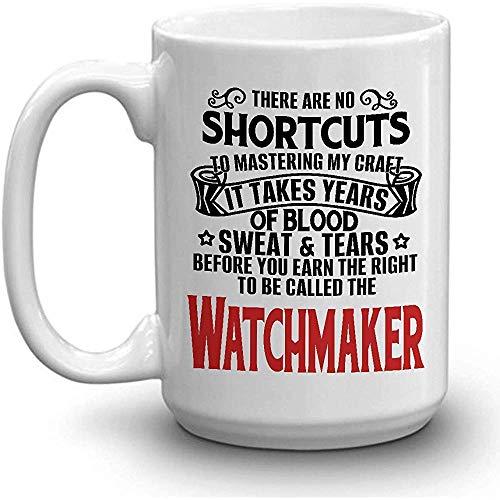WATCHMAKER Coffee Mug - SUDADERA DE SANGRE LÁGRIMAS GANADAS WATCHMAKER