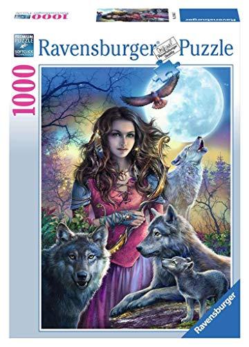 Ravensburger 196647 Puzzle 19664 - Patronin der Wölfe - 1000 Teile