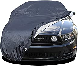Custom Fit Car Cover for Select Ford Mustang - Executive Storm-Proof Water Resistant 7 Layers -Developed for Any All Conditions