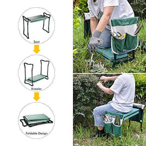 Sunix Folding Garden Kneeler and Seat