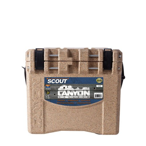 Canyon Cooler Scout 22 Quart Adventure Cooler in Sandstone