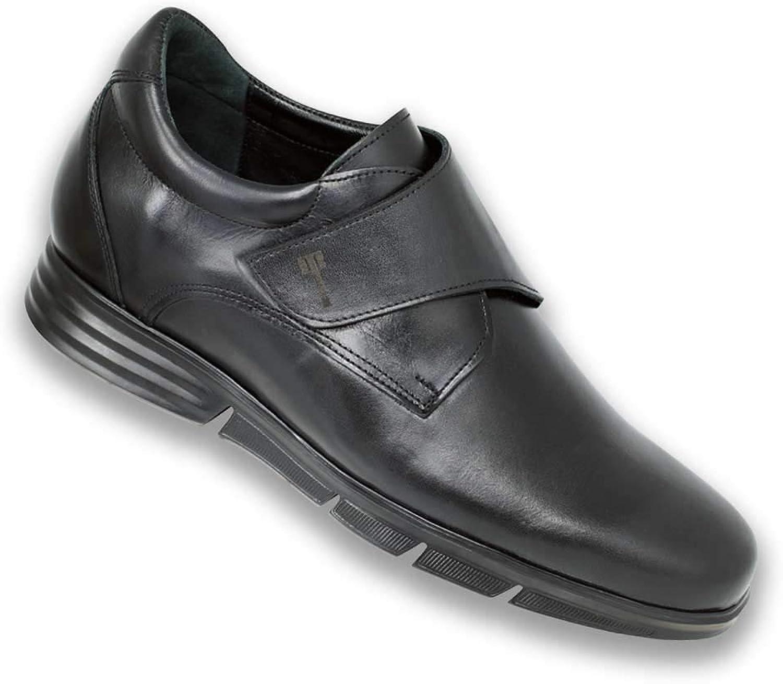 Höjd höjande skor för män.Var Taller 7 cm     2.75 tum.Modell Modena C.  E-handel