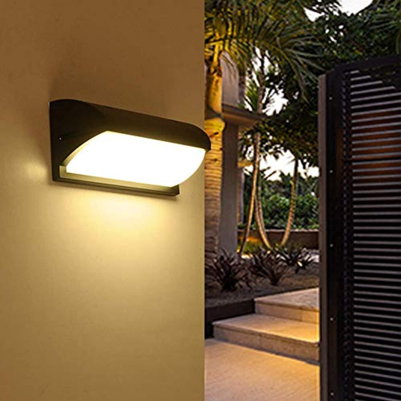 WENYAO wasserdichte Aluminiumwandleuchte im Freien, energiesparende Innenhof-Korridor-Wandbeleuchtungslampe-Menschliche Radar-Induktion 30w