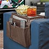 Organizador para sofá con reposabrazos, bolsillo sofá, bandeja de tela Oxford, sillón, colgar, bolsa almacenamiento libros, revistas, teléfono móvil, mando a distancia