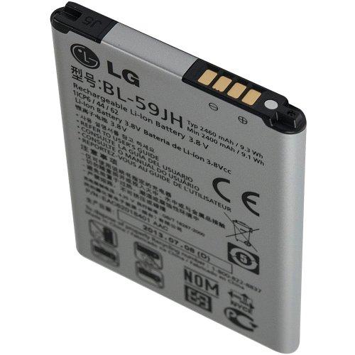 original LG Li-Ionen Akku BL-59JH fr P710 Optimus L7 II // 2460 mAh - 3,8 V // bulk-Verpackung - EAC62018401