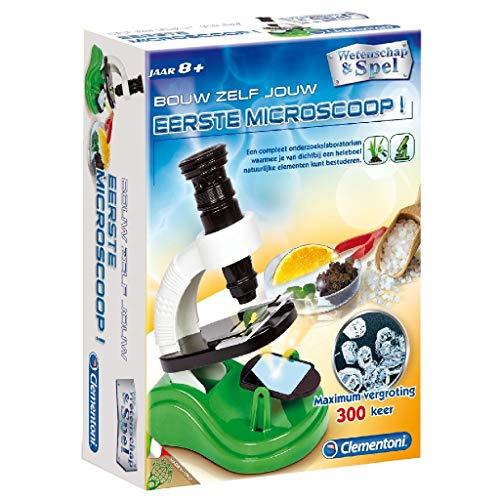 Clementoni 66412 Wetenschap 1e Microscoop, 6+ Jaar