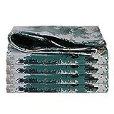 CHEEKQ Lona Lona de Camuflaje Impermeable, Paño Protector Solar Anti-envejecimiento a Prueba de Lluvia para Camiones, Resistente a Los Rayos UV, Resistente Al Desgarro (Size : 5m x 7m)
