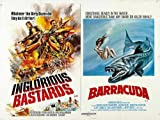 Combo Inglorious Bastards Poster 01 A3 Box Canvas Print