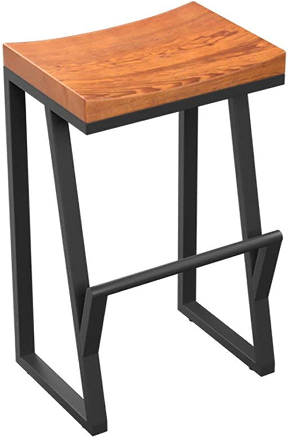 Living Room Furniture Wrought Iron Stool and Ergonomic Footstool   Bar Kitchen Bar Stool Dining Chair   Maximum Load 200 Kg