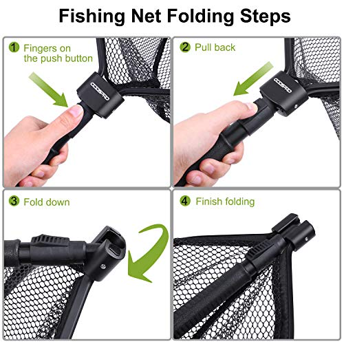 Oddspro Fly Fishing Landing Net
