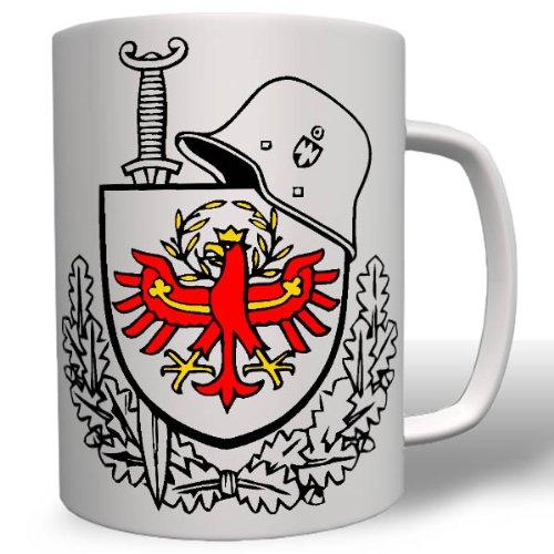 Südtirol Schwert Schild Helm Süd Tirol Italien Befreiung Partisan Partisanenkämpfe Johannes Hofer - Tasse Kaffee Becher #16776