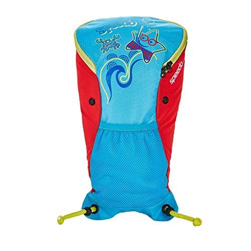 Speedo Sea Squad Backpack Mochila, Unisex Adulto, Azul (Japan Blue/Lava Red), 24x36x45 cm (W x H x L)