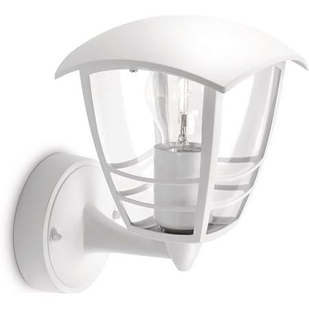 Philips 153803116 Creek Lanterne Murale Aluminium Blanc 1 x 60 W