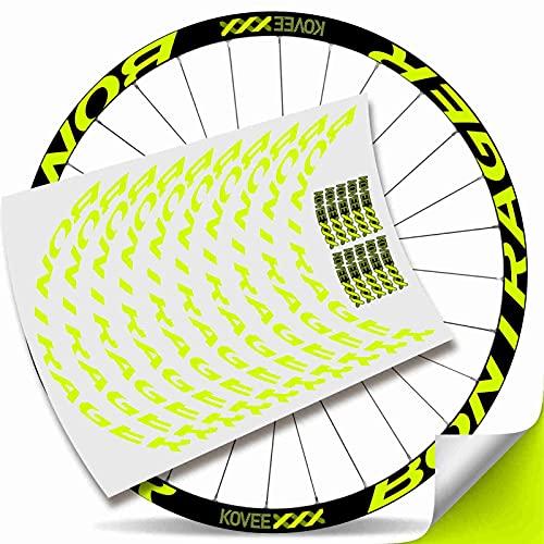 Kit Pegatinas Bicicleta Stickers LLANTA Mavic Crossmax Pro C
