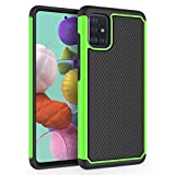 SYONER Shockproof Phone Case Cover for Samsung Galaxy A51 (4G Version) [Green]