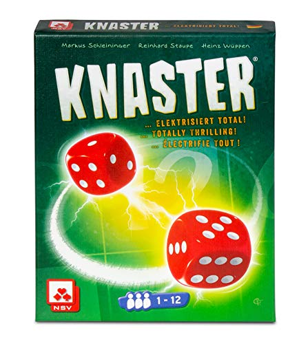 NSV - 4082 - Knaster - International - Würfelspiel