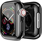 OJOS Electroplate Case Compatible with Apple Watch Case 44mm Series 5, Super Thin